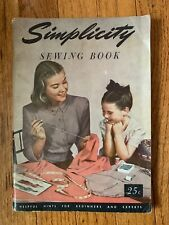 Vintage 1949 Simplicity Sewing Book - Helpful Hints for Beginners and Experts