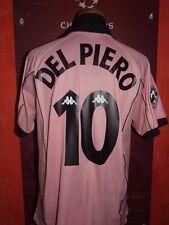 RARE DEL PIERO JUVENTUS 1997/1998 MAGLIA SHIRT CALCIO FOOTBALL JERSEY CAMISETA