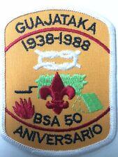 BSA PUERTO RICO CAMPAMENTO GUAJATAKA PATCH 1988 50 ANIVERSARIO-VINTAGE