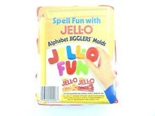 Spell Fun With Jell-O Alphabet Jigglers Molds new
