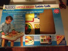 NEW vtech little smart table talk play vintage removable legs Free Shipping