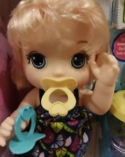 2  PACIFIERS  FOR  BABY ALIVE  SwEET SPOONFULS  AND GO BYE BYE   '  NO DOLL '