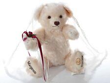 Steiff bears*Mohair Teddy Bear Bride wool White Retired -Ean 001963