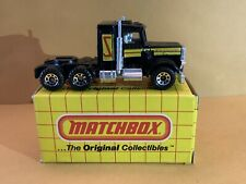 Matchbox Superfast No. 43 Peterbilt Conventional Convoy Tampo With Box