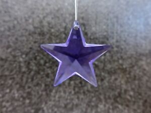 SWAROVSKI® Crystal Star Prism, ART# 8815 28MM, PURPLE, Genuine Austrian Leaded
