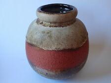 SCHEURICH 284-19 Keramik Vase braun terracotta - Mid Century West German Pottery