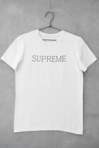 SUPREME  t shirt unisex high quality product personalised Australian made