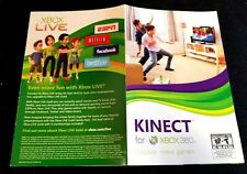 Xbox 360 Kinect Sensor Manual Insert ONLY