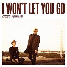 GOT7 Japan 3rd Mini Album [I WON'T LET YOU GO] Type C (CD+DVD) Mark&BamBam Unit