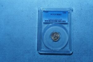 US  $ 1.0 Dollar 1889 GOLD COIN  PCGS MS63