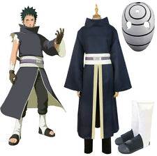 NARUTO Cosplay Akatsuki Ninja Tobi Obito Madara Uchiha Obito Costume Mask Shoes