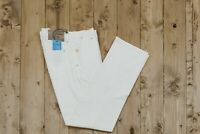 349$ BELVEST B5 White Denim Jeans Pant 34 US / 50 EU Modern Fit Made in Italy