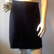 Wolford Bling logo Black Stretch A-line Elastic Waist Skirt Sz.6