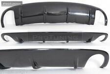 A6 C6 4F 04-08 Avant rear Bumper diffuser Spoiler RS S Sline s-Line S6skirt chin