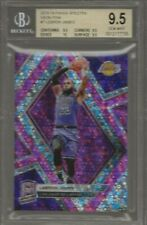 2018-19 Panini Spectra LeBron James Neon Pink Prizm 5/25 Lakers BGS 9.5 Gem Mint
