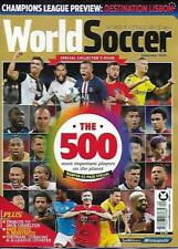 WORLD SOCCER- September 2020 issue (NEW) *Post included to UK/EU