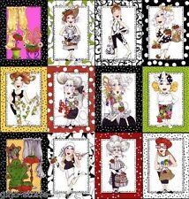Loralie Sew Fabulous Panel Patchwork Stoffe Patchworkstoffe Baumwolle Nähen Mode