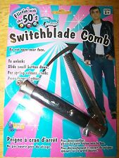 NEW Switch Blade Switchblade Comb 1950's Halloween Costume Prop Knife Toy