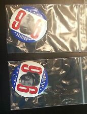 1996 GRIFFEY FOR PRESIDENT METAL BUTTONS RARE 2  Nike Promotion Baseball Hof