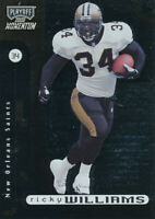 Ricky Williams 2000 Playoff Momentum  #59 New Orleans Saints football Card