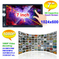 """7"""" Android 8.1 GPS Car Navigation w/Camera MP5 Player Touch Screen WiFi / DSP"""