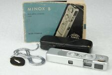 Minox B Camera Ob. Coplan 15MM F:3,5 Astuccio+Catena 1950s Made in Germany