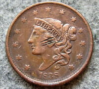 UNITED STATES 1838 ONE CENT, CORONET HEAD