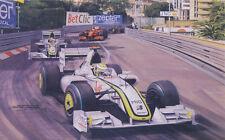 Formula 1 One F1 Motor Racing Car Jenson Button Brawn Father Birthday Card