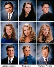 1990's NASCAR Mega-Champion Jimmy Johnson graduating senior High School Yearbook