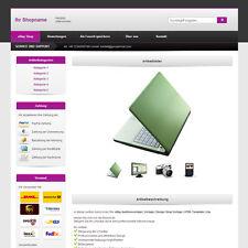 eBay Auktionsvorlage   Vorlage   Design Shop Vorlage   HTML Template   Lila