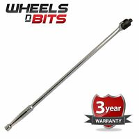 """1/2 Dr Drive Pro Heavy Duty Power Knuckle Breaker Flexi Bar 24"""" Long Extra Long"""