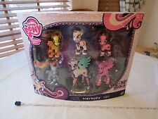 My Little Pony RARE friendship Magic Ponymania collection 6 ponies BRONIES NOS