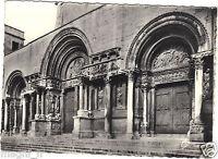 30 - cpsm - ST GILLES DU GARD - Le portail de l'église