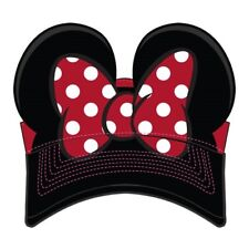 Disney Parks Exclusive Minnie Mouse Bow Visor Youth Hat