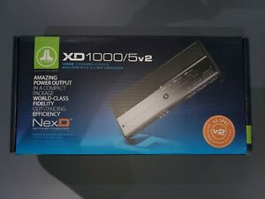 JL Audio XD1000/5v2 XD 1000W Class D 5-Channel Car Amplifier New