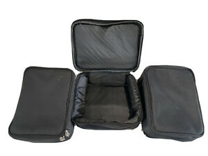 3 padded square  Reel Cases suitable for larger reels