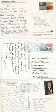 V4750 Andorra FOURTEEN French stamp postcards UK Argentina;  1973? - 2007