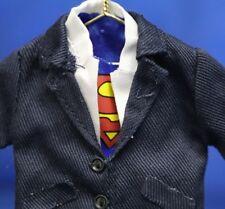 Superman Clark Kent Outfit Costume Christmas Ornament DC Comics Hallmark 2007