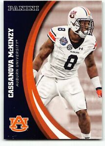 2016 Panini Collegiate Auburn Team Collection Trading Card #16 Cassanova McKinzy