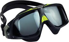 Aqua Sphere Seal 2.0 Goggles: Black/Green with Smoke Lens