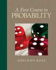 A First Course in Probability by Sheldon M. Ross (2008, Hardcover)