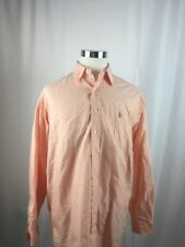 Ralph Lauren Salmon Button Up Size 16 34/35 -B12
