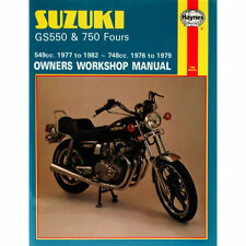 Suzuki GS550 1977-82 GS750 Fours 1976-1979 Haynes Workshop Manual