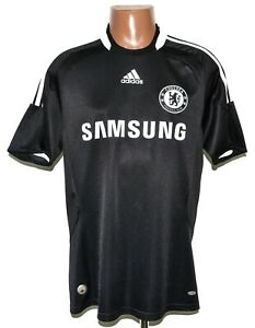 CHELSEA 2008/2009 AWAY FOOTBALL SHIRT JERSEY ADIDAS SIZE M ADULT