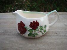 Vintage Barker Bros Royal Tudor Ware China Jug Gravy Cream Milk Shadow Rose MCM