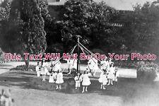 SF 790 - Maypole Dancers, Sudbury, Suffolk c1908 - 6x4 Photo