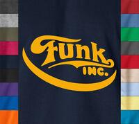 FUNK INC. T-Shirt Parliament Funkadelic Vintage James Brown Ringspun Cotton Tee