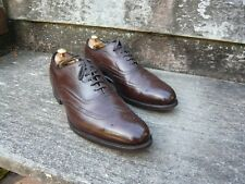 CHURCH BROGUES – BROWN NEVADA CALF  - UK 11 – GUNTHORPE – EXCELLENT CONDITION