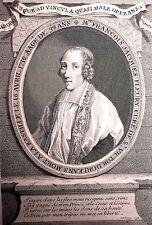 Portrait de Mre François Jacques Fleury par Duchange