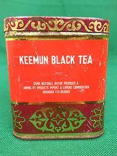 SCATOLA DI LATTA - KEEMUN BLACK TEA- THE TE' NERO CINESE. N° N32.